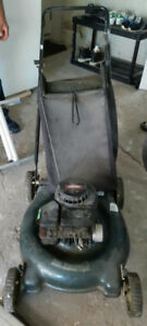 Gas powered lawn mower (needs to be fixed)