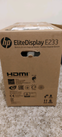 "HP Elite Display E233 23"" Monitor"