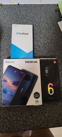 Nokia 5.4 and fitness band 6