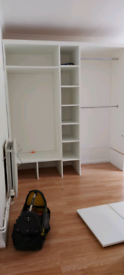 Large open wardrobe