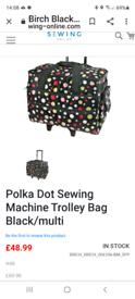Sewing machine trolley bag (new)