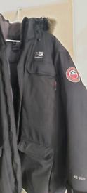 Karrimor mens black padded jacket xxl