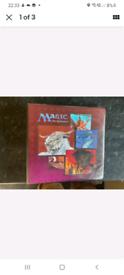 Wanted mtg magic the gathering album / folder / binder