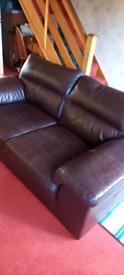 Leather Sofa M&S