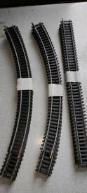 Model railway track, oo gauge, fixed track, job lot