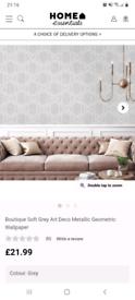Boutique wallpaper