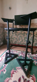 adjustable speaker stands and dj equipment stand