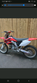 Honda cr 250 2002 road reg imaculate