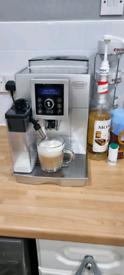 Delonghi bean to cup machine.