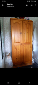 Solid pine Bedroom Furniture. Excellent condition.