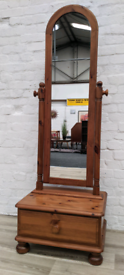 Ducal Victoria Cheval Mirror (DELIVERY AVAILABLE)