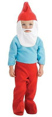Brand New Baby Infant Toddler PAPA SMURF Kids Halloween Costume Cute Baby - Papa Smurf Halloween Costume