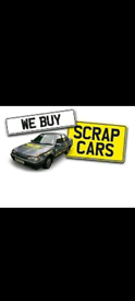 Scrap cars and Van's wanted