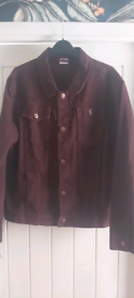 Father sons denim jacket large