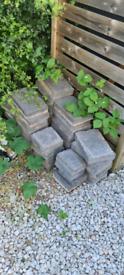 Blue stone block pavers (driveway stones/slabs)