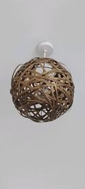 Bamboo Light Shades (2 AVAILABLE)