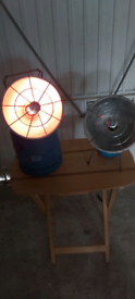 Camping gas heaters
