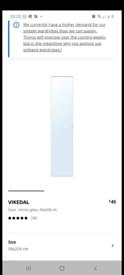 1x Vikedal for Pax Ikea Wardrobe Door. Tall version