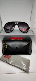 Ray-ban cat 5000 sunglasses black