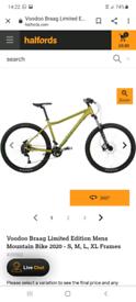 Voodoo braag mountain bike 2020model