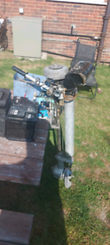 Seagull outboard engine forward and reverse