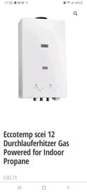 Ecotemp cei-12 water heater