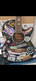 Electro acoustic guitar READ DESCRIPTION