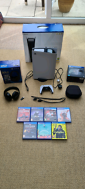 PS5 Console plus extra controller, headset and 7 ps4 games - £570 ono