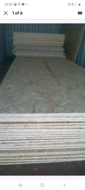 15mm osb board,brand new 2.4m x 1.2m