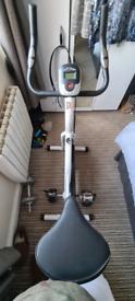 White Exercise bike