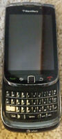 BLACKBERRY TORCH 9800 UNLOCKED USED CONDITION WITH CHARGER