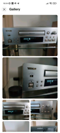Teac R-H500 Stereo Cassette Deck Separates Champagne gold colour