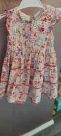 Girls Monsoon dress 12-18 months