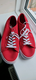 Mens Red Vans