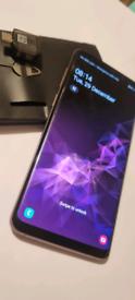 Samsung Galaxy S9 plus liliac purple