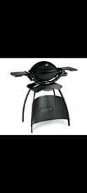 Weber q1200 with stand barely used BBQ.
