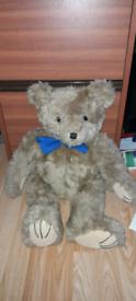Traditional brown Teddy bear.