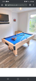6Ft Slate bed Pool Table