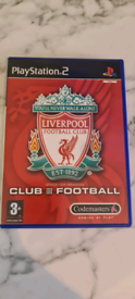 Playstation 2 / PS2 - Liverpool FC club football game