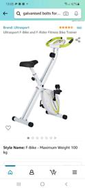 Ultra sport exercise bike f glider