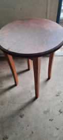 Wood/Leather table