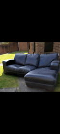 Corner leather sofa ** FREE TO COLLECTOR **