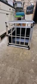New unused car dog crate
