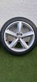 """Genuine Audi S Line 18"""" Alloys and Tyres"""