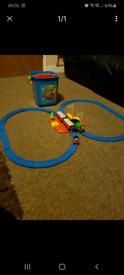 Thomas the tank engine and Percy bucket train set