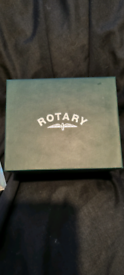 Rotary Chronograph Men's Gold Tone Watch