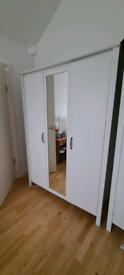 IKEA 3 door mirrored wardrobe