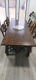 Harvey's solid wood dining table