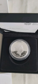 Una and the Lion Proof 2oz Silver Coin