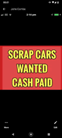 Cash for vans not or not faulty unwanted damaged